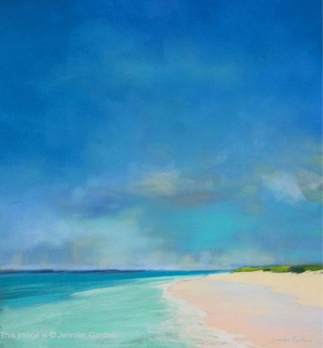 Jennifer Gardner PSA Turquoise Waters