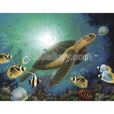 Enchanted Sea Turtle