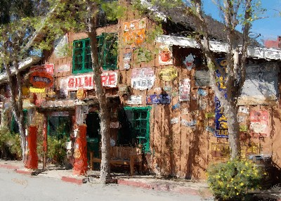 Baja Cantina - Carmel Valley, California - Canvas Giclee
