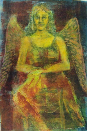Judy DiMuzio Angel at Rest