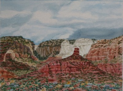 Julianne Ricksecker Stormy Sedona
