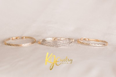 Kathy J. Evert Wire Bangles