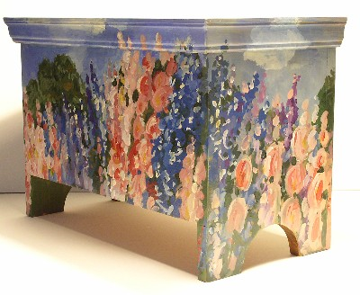 Laurie Rohner Studio Trunk with Garden Landscape