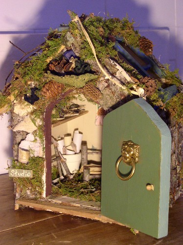 Laurie Rohner Studio Woodland Fairy Art Studio