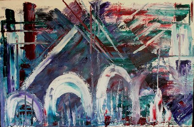 Leon Zobel The Past Thru Grecian Arches