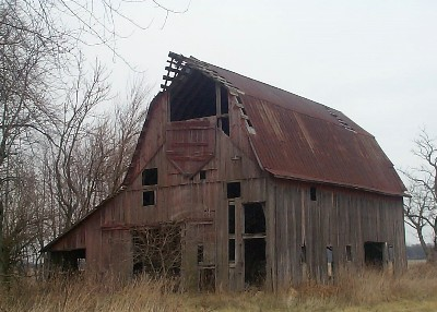 Ole White County Indiana Barn