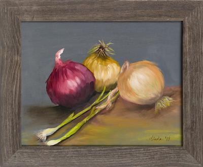 Onion Stilllife