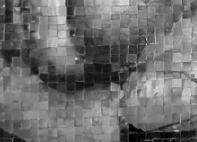 Hand Mosaic Detail