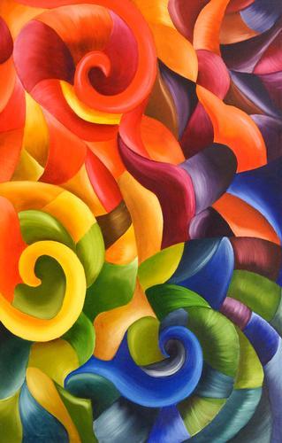 Whimsical swirls