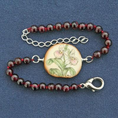 Ladyslipper bracelet