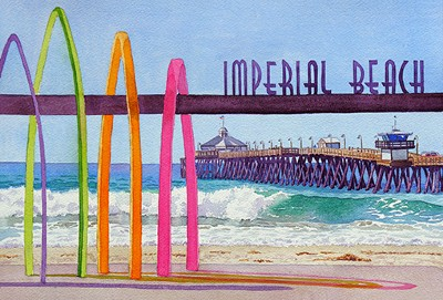 Mary Helmreich Imperial Beach Pier