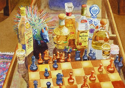 Mary Helmreich Chess and Tequila