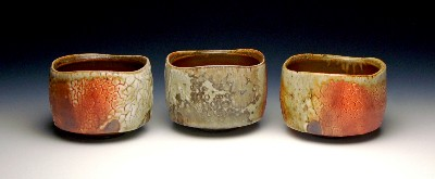 Crackle Tea Bowls