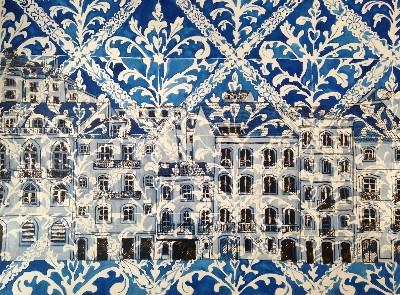 Sao Bento, Blue and White Tiles