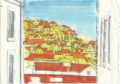 Rooftops, Towards Alfama