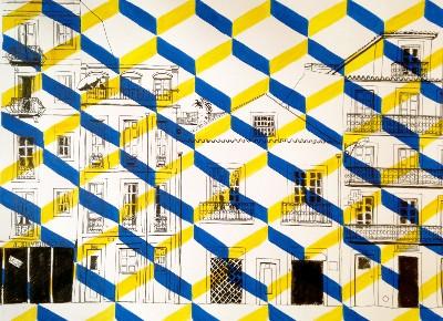 Sao Bento, Blue and Yellow Tiles