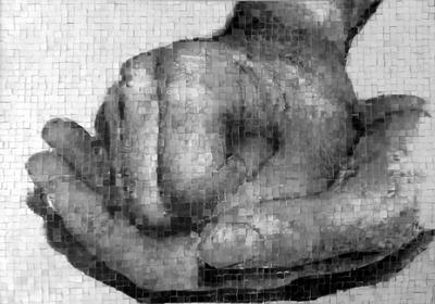 Hands Mosaic