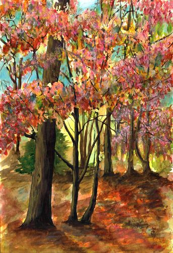 Nancy Tydings Bullough Autumn Woods