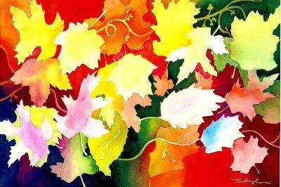 Nancy Tydings Bullough Happy Leaves