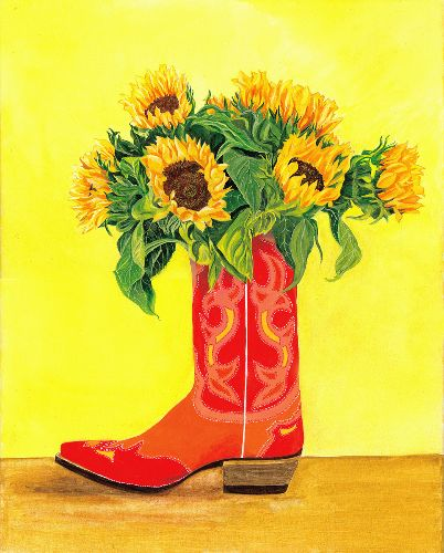 Nancy Tydings Bullough Kickin' Sunflowers