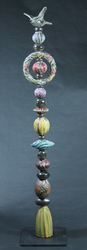 Nancy L Briggs Five Foot Garden Totem