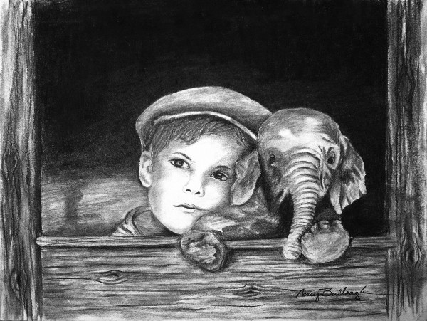 Nancy Tydings Bullough A Boy & His Elephant