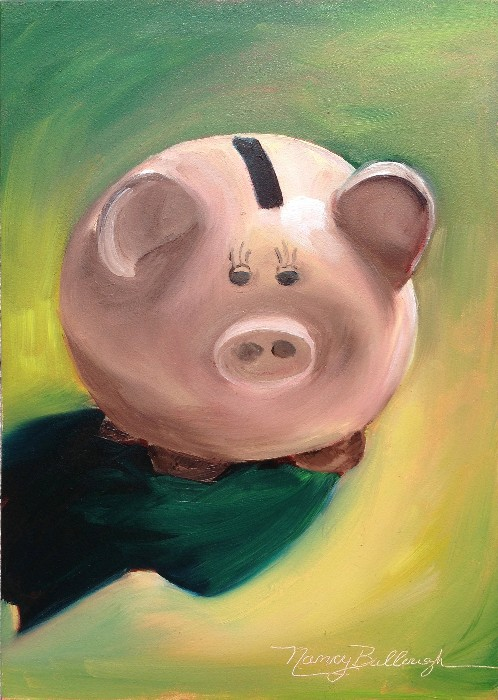 Nancy Tydings Bullough Little Piggy Bank