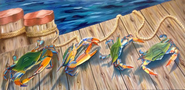 March of the Blue Crabs