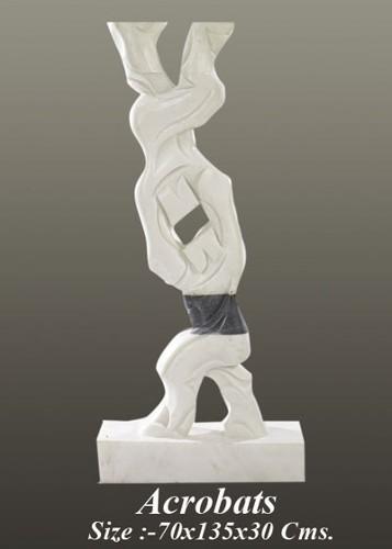 Marble Sculpture Acrobats