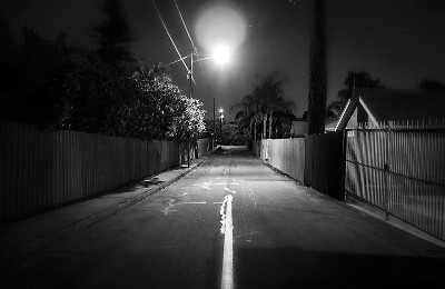 Nick Egglington Suburban Street At Night