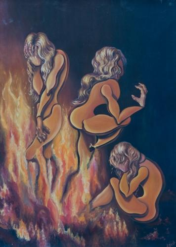 Olesya Valerievna Novik Dolls in the fire
