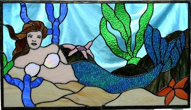 Mermaid Window