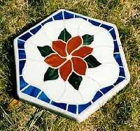 Clematis stepping stone