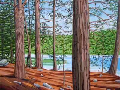 Pamela Lang Redick Long Pines