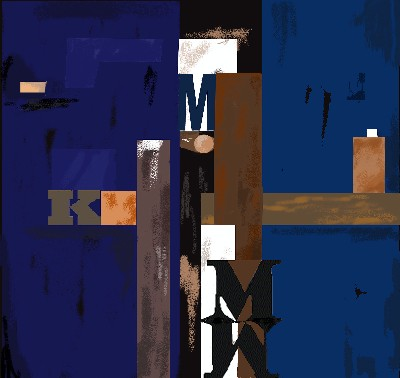 Blue M K