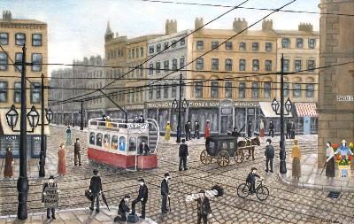 CROSS STREET MANCHESTER - 1910