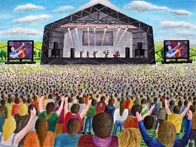 Glastonbury Music Festival  TO RECENT INQUIRY FOR PRINT PLEASE SEND ME YOUR E-MAIL