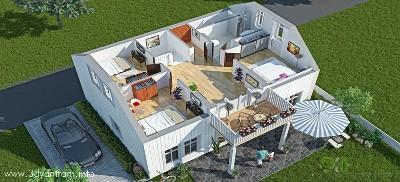 3D Floor Plan Dubai