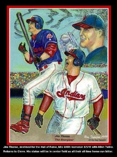 Jim Thome 600 Home Runs