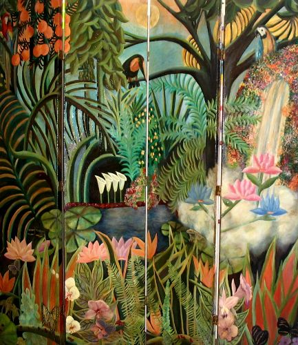 Midnight Jungle Tribute To Rousseau