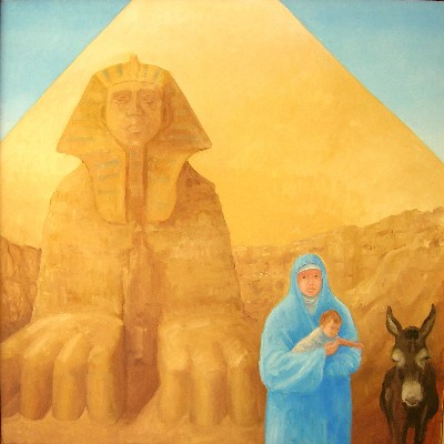 Richard Green The Holy Family in Egypt