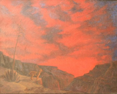 Richard Green The Canyon at Sunset
