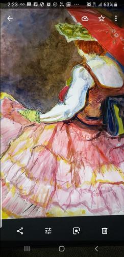 Woman in Petticoats