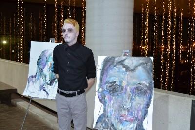 Artist Russell Frantom