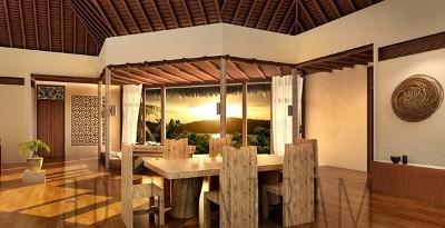Cocina de diseño de interiores en 3D