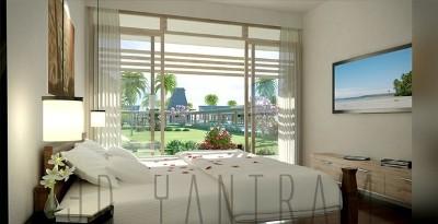 Diseño interior del dormitorio de representación