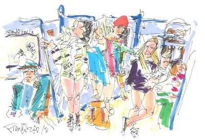 New York Subway Girls