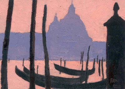 Sam Dixon Venice Evening Twlight