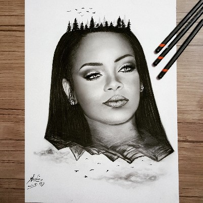 Rihanna by Samira Jozi