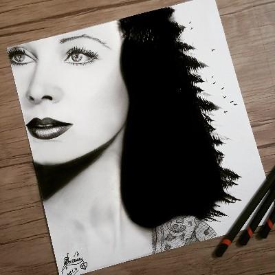 Vivien Leigh by Samira Jozi